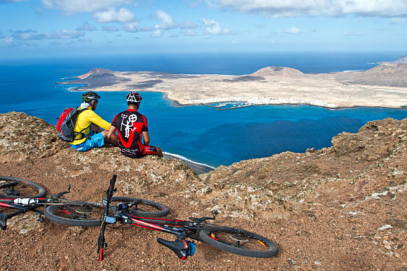 Mountain bike routes in North West Lanzarote