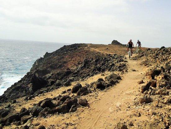 mountain biking east coast Lanzarote